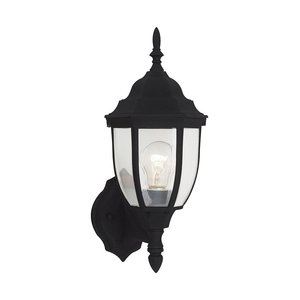 Sea Gull 88940-12 ONE LIGHT BLACK FINISH