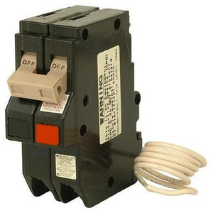 Eaton CH220GFT Breaker, 20A, 2P, 120/240V, 10 kAIC, Type CH Ground Fault