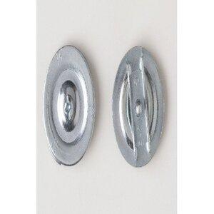 """Bizline R3PKOS50 Three-Piece Knockout Seal, 1/2"""", Steel"""