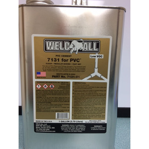 Bochner GLGAL PVC Cement, Clear, 1 Gallon
