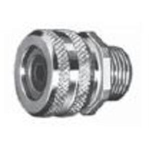 """Appleton CG-5075 Liquidtight Strain Relief Connector, 3/4"""", Straight, Aluminum"""