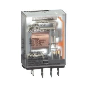 8501RS41V20  1 POLE 120VAC RELAY