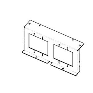 Wiremold EFB8-22GMB 2 2-GANG MOUNTING BRACKET