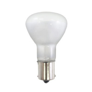Norman 1383/TF Incandescent Miniature Lamp, Shatter-Resistant, R12, 20W, 13V