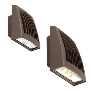 Hubbell - Lighting SG1-40-PCU LED Wallpack, 38 Watt, 5000K,120-277V, Dark Bronze