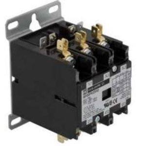 Square D 8910DPA33V09 Contactor, Definite Purpose, 30A, 600VAC, 208/240VAC Coil, 3PH, 3P