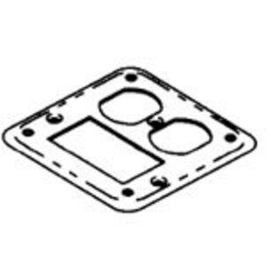 Bowers 482-NEC 1/8D GFI&DPLXRCPTCVR