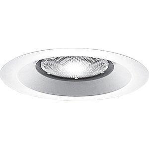 "Progress Lighting P8073-28 Open Trim, IC/Non-IC, 6"", White"