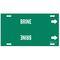 4018-F 4018-F BRINE GRN/WHT STY F