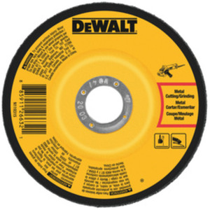 DEWALT DW4541 4-1/2IN X 1/4IN X 7/8IN FAST CUTTING ABR