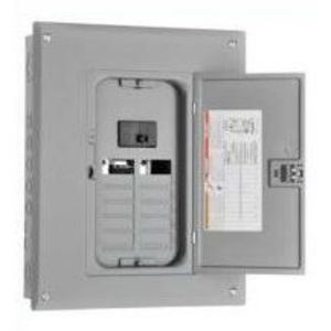 Square D HOM4080M200PC Load Center, Homeline, Main Breaker, 200A, 120/240VAC, NEMA1