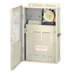Intermatic T30004R Mechanical Timer w/ Enclosure, 24 Hour, SPST, NEMA 3R, 30A, 240V