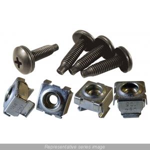 CAGKIT1032-50 50PK 10-32 CAGNUT & SCREWS