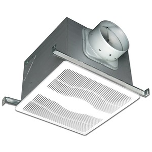 Air King E80D Exhaust Fan, 2-Speed, 30 CFM, 80 CFM, White Grill