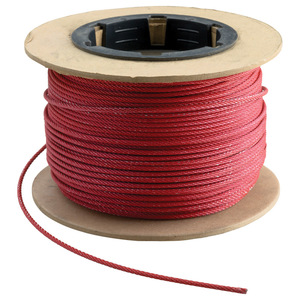 nVent Caddy CSB12CBL ERC CSB12CBL #12 RED CABLE, 250 FT
