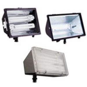 Lithonia Lighting OFL213F120LPBZM4 13W Fluorescent Floodlight