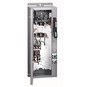 Allen-Bradley 1232-DNB-A1L-26R Pump Panel, NEMA 3, 480VAC Coil, 3R, Enclosure, E1 Overload Relay