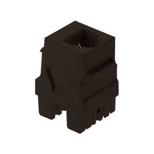 ON-Q WP3425-BR RJ25 CONNECTOR BROWN (M20)