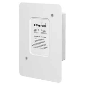 Leviton 51110-SRG Type 2 Residential Surge Protector NEMA 4X Rated