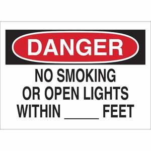 25084 NO SMOKING SIGN