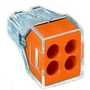 773-164 PUSHWIRE CONN ORANGE 4-CONDUCTOR