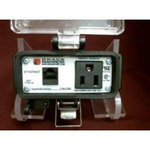 Grace Technologies P-R2-F2R0-U596 Programming Port, Cat 5e Ethernet, Simplex, 15A, 120VAC, Type 4X-IP65