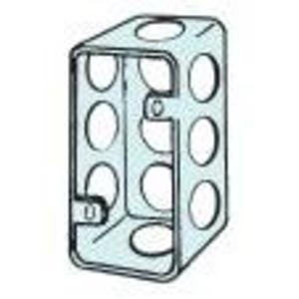 "Appleton 4SS Handy Box, Depth: 1-1/2"", 1/2"" Kos, Drawn, Metallic"