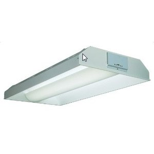 """Lithonia Lighting 2AVST232MDRMVOLTGEB10IS Linear Recessed Fluorscent Fixure, Voltage: 120-277V, 48""""x24"""""""