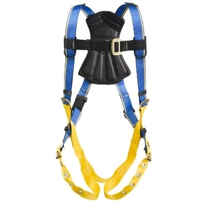 Werner Ladder H212002 Blue Armor 1000 Standard Harness, Tongue Buckle Legs (M/L)