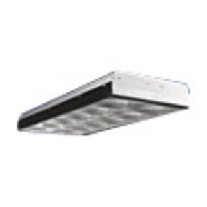 Metalux 2EP3GX-332S36I-UNV-EB81-U Parabolic Fixture, 2 x 4', 3-Lamp, 18-Cell, T8, 32W, 120/277V