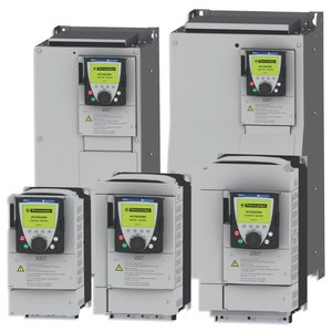Square D ATV71HD22N4 Variable Speed Drive, Altivar 71, 22kW, 30HP, With Heat Sink