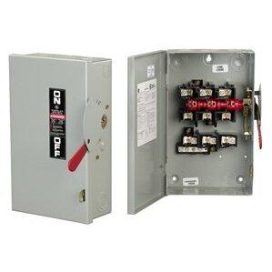 ABB TG3325 Disconnect Switch, Fusible, 400A, 240VAC, 3P, 3 Wire, NEMA 1