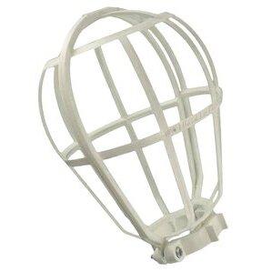 Leviton 12200-W Lamp Guard, Wire Type, Plastic, White