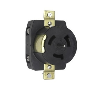 Pass & Seymour CS8169 Locking Receptacle, 50A, 3PH 480V, California Style, 3P4W