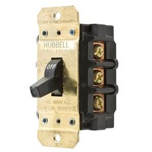 Hubbell-Kellems HBL7853D Manual Motor Controller & Disconnect, 3P, 50A