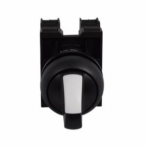 Eaton M22S-WRK-K10 Selector Switch, Knob Type, Black, M22