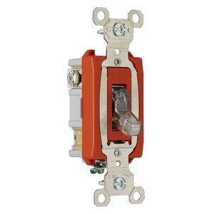 Pass & Seymour PS20AC1-CPL Switch 1p 20a 120v Clear Pilot Light