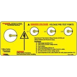 Grace Technologies R1A0033WNPLPH Voltage Detector, Non-Contact, SafeSide Combo Unit, R-3W, 3 x R-1A *** Discontinued ***
