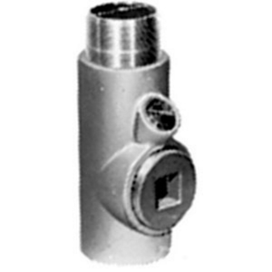 "Appleton EYM300-AL Sealing Fitting, Vertical/Horizontal, 3"", Explosionproof, Aluminum"