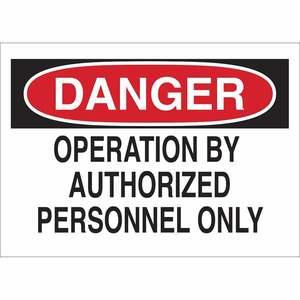 23024 MACHINE & OPERATIONAL SIGN