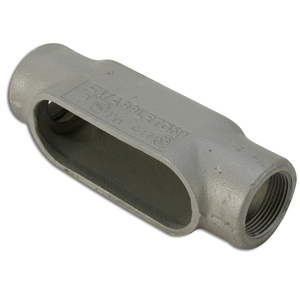 "Appleton C47SA Conduit Body, Type: C, Size: 1-1/4"", Form 7, Aluminum"