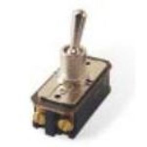 Eaton 7320K3 Toggle Switch, 2PST, 16A, 125VAC, 8A, 250VAC, 1HP, On-None-Off *** Discontinued ***