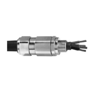 """Appleton 75ST32505 Cable Gland, Size: 75S, Diameter: 2-1/2"""", Nickel Plated Brass"""