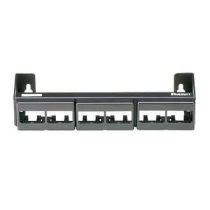 Panduit CWPP12WBL Patch Panel, 12-Port, Faceplate