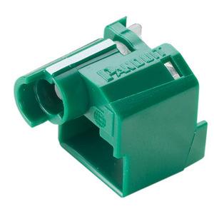 Panduit PSL-DCPLX-GR Standard Lock-in Device, 10 Devices (Gre