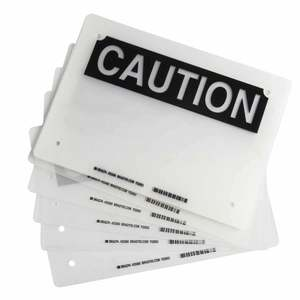 23364 LAMINATING POUCHESTYPE: CAUTION