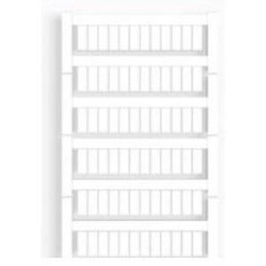 Weidmuller 1609900000 Terminal Block, Marker, 12mm x 6mm, White, Fits Allen Bradley