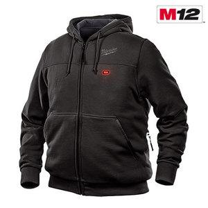 Milwaukee 302B-203X M12 Black Heated Hoodie, 3XL