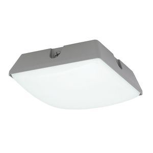 Hubbell - Lighting LSQ2-70-4K-PCU LED Garage Luminaire, 75 Watt, 9300 Lumen, 4000K, 120-277V