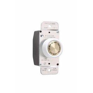 Wattstopper 94004-W P&S 94004-W FAN SPEED CONTROL ROTAR